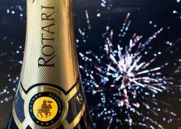 Nyårsbubbel -  Rotari Brut Riserva