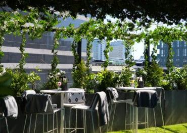 Clarion Hotel Sign lanserar  takhäng - Rooftop Garden Bar