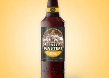 Det tionde ölet i serien Fuller's Past Masters - Pale Ale 1909