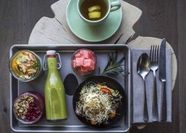 Downtown Camper öppnar hållbart café