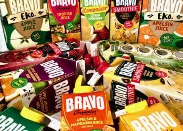 Juicer & smoothies i  färgsprakande blandning