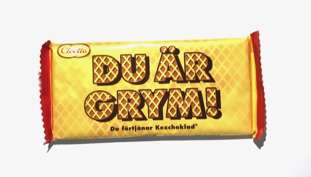 go och glad kexchoklad