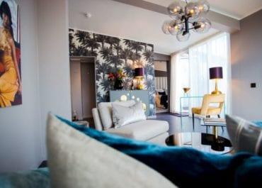 Lyx och flärd i Clarion Hotel Amarantens nya svit!