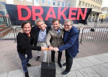 Eldig byggstart för Clarion Hotel Draken