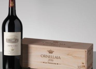 Nya årgångar av Ornellaia och Le Serre Nuove