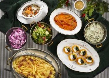 Enormt intresse för veganskt julbord i Stockholm