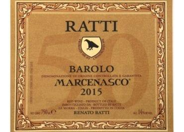 Ratti Barolo Marcenasco 50 årsjubileum