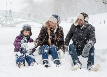 Bästa skyddet för dig och ditt barn i vinter