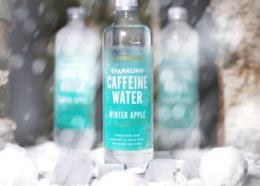 Winter edition av Löfbergs Caffeine Water