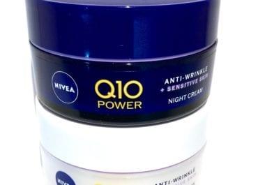 Nya NIVEA Q10 Sensitive för känslig hy