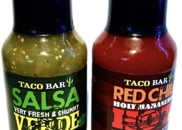Taco Bar Shop! och goda såser till nyåret