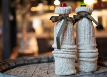 Tre kreativa sätt att göra paket av en vinflaska