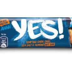 Säg YES! till en ny bar omsorgsfullt förpackad i papper