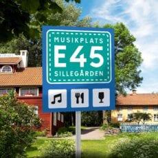 Musikplats E45 – trädgårdskonserter på Sillegårdens sommarpensionat