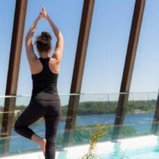 Rooftop-yoga hela sommaren!