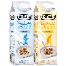 Högt proteininnehåll i ny yoghurtkvarg från populära Lindahls