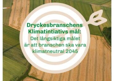 Ny rapport om dryckesbranschens klimatpåverkan