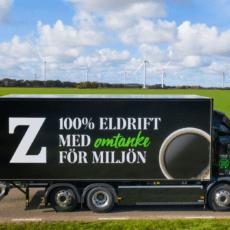 ZOÉGAS satsar på ellastbilar för mer hållbara transporter