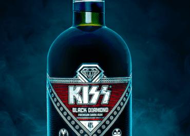 KISS Black Diamond Premium Dark Rum
