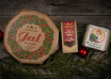 Leksands Knäckebröd släpper i år tre goda ting till jul