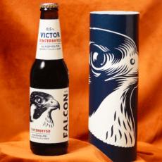 Falcon lanserar flaskpost – bokstavligt talat