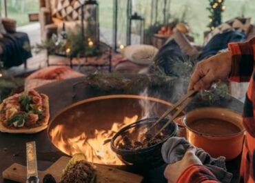 Streetfood in the Park – uteservering över öppen eld i Hagaparken