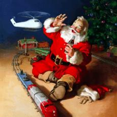 100 år sedan Coca-Cola började skriva julhistoria