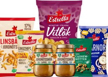 Estrellas otippade lanseringar 2021: jordnötssmör, veganska ostsnacks och mycket mer