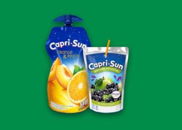 Ett steg för Capri-Sun att bli världens mest hållbara stilldrink
