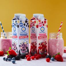 Skånemejerier och Bravo möts i unik smoothie-licious innovation