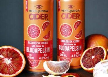 Herrljunga Cider Blodapelsin