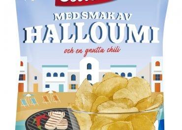 Matchsnacks och chips med smak av halloumi!