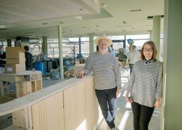 Bussterminal blir fransk boulerestaurang