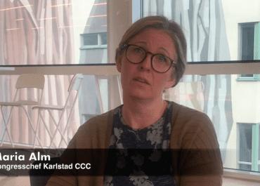 WEBB-TV: Karlstad CCC erbjuder ny studiolösning Maria Alm berättar mer..