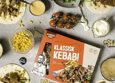 Kebab på väg att bli barnfamiljernas nya helgfavorit