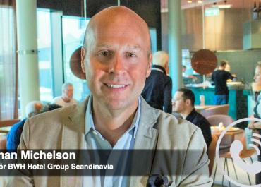 WEBB-TV: Johan Michelson om nya satsningen Sure Hotel Studio