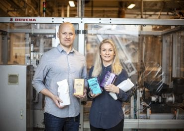 Kaffeförpackningar i återvinningsbart monomaterial på väg att bli verklighet hos Löfbergs