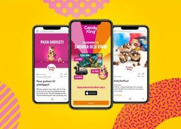 CandyKings digitala aktiveringsplattform engagerar konsumenter och driver försäljning i butik