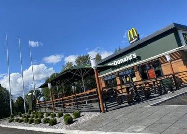 McDonald's öppnar årets tredje nya restaurag - återvänder till Örnsköldsvik efter 13 år