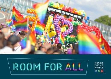 Nordic Choice Hotels - huvudpartner för Pride i Norden