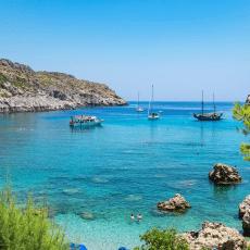 Kärleksäventyren på den populära ön Rhodos i Grekland