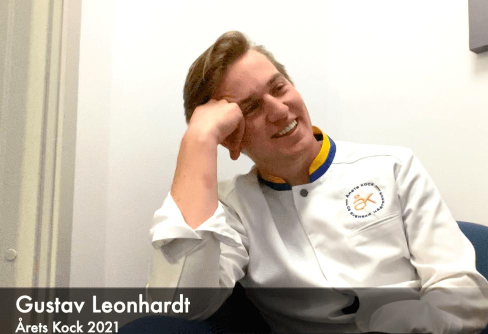 WEBB-TV: Gustav Leonhardt – Vinnare av Årets Kock 2021
