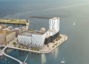 Scandics andra etablering i Helsingborg  - 14 våningar höga hotellet med 184 rum!