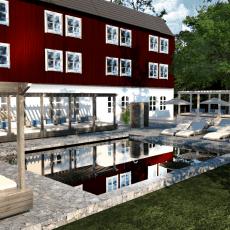 Skytteholm Hotell & Konferens expanderar – bygger Nordiskt Spa och padelbanor